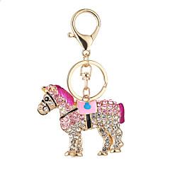 nowy koń gorących mody torebki kiesy breloczek ma klucz samochodowy zestaw ślimak klamra pierścień wisiorek prezent
