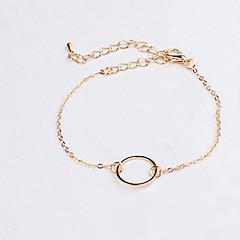preiswerte Armbänder-Damen Ketten- & Glieder-Armbänder - Liebe Simple Style Armbänder Silber / Golden Für Alltag / Normal