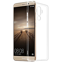 abordables Fundas / carcasas para Huawei serie P-Funda Para Huawei mate S / Huawei P9 / Huawei P9 Lite Transparente Funda Trasera Un Color Suave TPU para Huawei P9 Plus / Huawei P9 Lite / Huawei P9