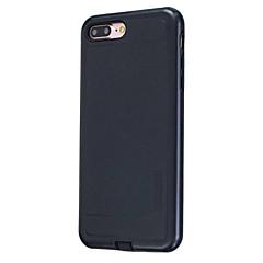 Недорогие Кейсы для iPhone 7 Plus-Кейс для Назначение Apple Кейс для iPhone 5 iPhone 6 iPhone 7 Защита от пыли Кейс на заднюю панель Однотонный Твердый ПК для iPhone 7