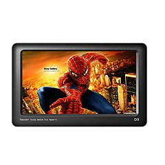 Uniscom mp3 / mp4 4.3 polegadas touch screen hd video player suporte e-book leitura