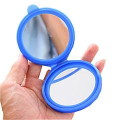 お買い得  鏡-シリコンケーススモール化粧鏡