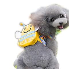 Gato Perro Paquete de perro Mascotas Portadores Portátil Adorable Amarillo