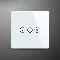 αγγίζετε διακόπτης dimmer φως, πρότυπο της ΕΕ, γυαλί διακόπτη αφής πάνελ τοίχου