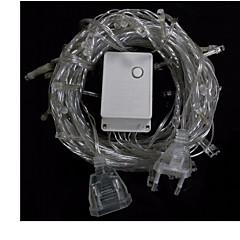 jouluvalot sisä- ulkokäyttöön koristeluun 10m 100 LEDit LED string valot meille eu au plug värivalot