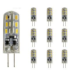 1.5W G4 2-pins LED-lampen TL 24 SMD 3014 100-150 lm Rood Blauw Groen K Dimbaar Decoratief DC 12 V