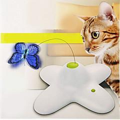 Zabawka dla kota Zabawki dla zwierząt Interaktywne Wędki dla Kota Elektroniczny Muchy