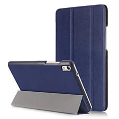preiswerte Tablet-Hüllen-Hülle Für Huawei Ganzkörper-Gehäuse / Tablet-Hüllen Volltonfarbe Hart PU-Leder für