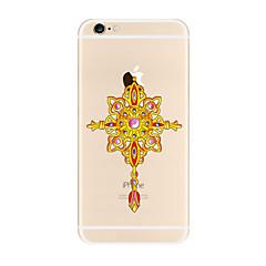 Кейс для Назначение Apple iPhone X iPhone 8 Plus iPhone 7 iPhone 6 Кейс для iPhone 5 Прозрачный С узором Задняя крышка Ловец снов Мягкий