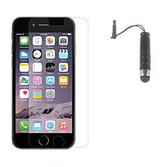 антибликовый протектор экрана матовая отделка с Стилус для Iphone 6S / 6