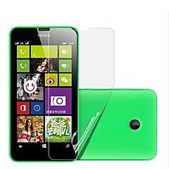 (6 pcs)High Definition Screen Protector for Nokia Lumia 630/635