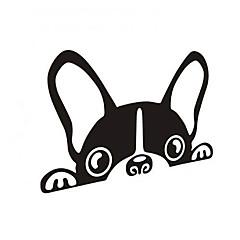 hesapli -komik köpekler araba sticker araba pencere duvar çıkartma araba styling