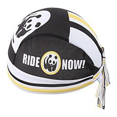 Xintown panda uusi ratsastus bandana kerchief polkupyörä pyörä pirate hattu pyöräily pääpanta miesten ja naisten korkki musta& valkoinen