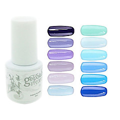 Χαμηλού Κόστους Fruit Fimo Τέχνη Νυχιών-yemannvyou®sequins νυχιών, gel χρώμα UV βερνίκι no.61-72 (5ml, διάφορα χρώματα)