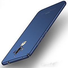 Недорогие Чехлы и кейсы для Huawei Mate-Кейс для Назначение Huawei Ультратонкий Кейс на заднюю панель Сплошной цвет Твердый ПК для Mate 9 Huawei