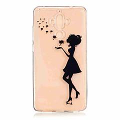 Для С узором Кейс для Задняя крышка Кейс для Соблазнительная девушка Мягкий TPU для Huawei Huawei Honor 8 Huawei Honor 5C Huawei Mate 9