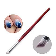 1buc cu gradient de gel fototerapia unghii cu gradient yunran stilou perie