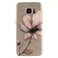 Χαμηλού Κόστους Galaxy S3 Θήκες / Καλύμματα-tok Για Samsung Galaxy S7 edge S7 IMD Διαφανής Με σχέδια Πίσω Κάλυμμα Λουλούδι Μαλακή TPU για S7 edge S7 S3