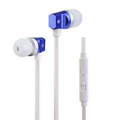 ουδέτερη Προϊόν HST-55 Ακουστικά Ψείρες (Μέσα στο Κανάλι Αυτιού)ForMedia Player/Tablet Κινητό Τηλέφωνο ΥπολογιστήςWithΜε Μικρόφωνο DJ