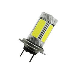 Недорогие Противотуманные фары-SO.K 2pcs H7 Автомобиль Лампы 6 W COB 600 lm Светодиодная лампа Противотуманные фары