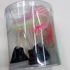 Dekoracja Aquarium Kwiaty Nietoksyczne i bez smaku
