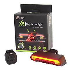 halpa Pyöräilyvalot-Pyöräilyvalot Laser LED LED Pyöräily Kauko-ohjain Vedenkestävä Erityiskevyet Litium-akku 80 Lumenia Akku Pyöräily Ulkoilu