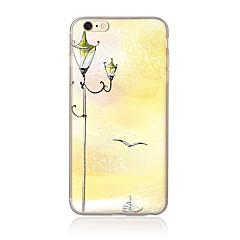 Недорогие Кейсы для iPhone 7 Plus-Кейс для Назначение Apple Кейс для iPhone 5 iPhone 6 iPhone 7 С узором Кейс на заднюю панель Пейзаж Мягкий ТПУ для iPhone 7 Plus iPhone 7