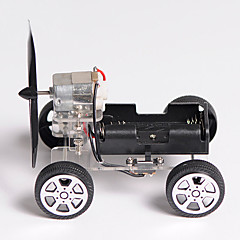 cheap Robots & Accessories-DIY Mini Wind Car 90 Small Technology Small Invention Package of Educational Toys Toy Car