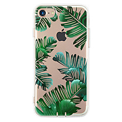 Para Funda iPhone 7 Funda iPhone 7 Plus Funda iPhone 6 Carcasa Funda Ultrafina Diseños Cubierta Trasera Funda Árbol Suave TPU para Apple