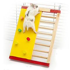 voordelige Accessoires voor kleine dieren-Knaagdieren Hamster Hout Kooien Willekeurige kleur