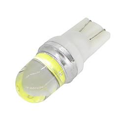 baratos -10pcs t10 branco 1 cob 2w cunha carro smd lâmpada w5w 194 168 2825 192 12 12v