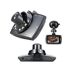Недорогие Автоэлектроника-Full HD 1920 x 1080 Обнаружение движения / G-Sensor / 720P Автомобильный видеорегистратор 120° Широкий угол 1/4 дюйма, цветная КМОП 2.7 дюймовый Капюшон с 6 инфракрасных LED Автомобильный рекордер