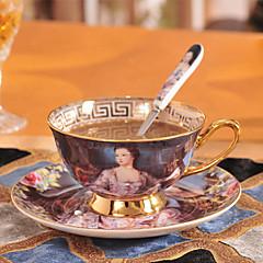 أكواب الشاي / زجاجات المياه / أقداح القهوة / شاي ومشروبات 1 PC خزفي, -  جودة عالية