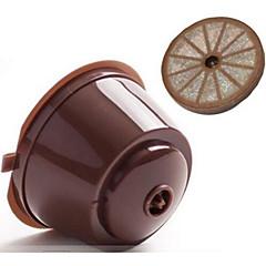 abordables Accesorios para café-Colador Portable Para Marrón Café Acero Inoxidable Plastic