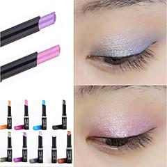 1pcs merk oogschaduw stok muziek bloemen enkel kleuren gouden lichtgevende oogschaduw cosmetische crème ogen pen