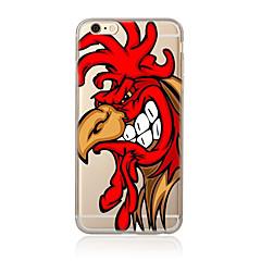 Недорогие Кейсы для iPhone 4s / 4-Кейс для Назначение Apple iPhone 7 / iPhone 6 / Кейс для iPhone 5 С узором Кейс на заднюю панель Мультипликация Мягкий ТПУ для iPhone 7 Plus / iPhone 7 / iPhone 6s Plus