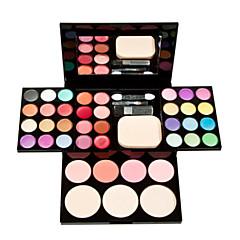 billige Øjenmakeup-Rouge+Øjenskygger+Læbestifter Tør Øjne Ansigt Læbe Blegende Farvet glans Længerevarende Concealer Ujævn hud Naturlig porereducerende #