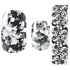 Autocolantes de Unhas 3D - Flôr/Adorável - para Dedo - de Outro 14.5*7.5*0.1