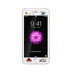 για Apple iPhone 6 / 6δ συν 5.5inch γυαλί διαφανές προστατευτικό μπροστά οθόνης με ανάγλυφο καρτούν λάμψη μοτίβο στο σκοτάδι πουλιών