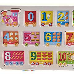 رخيصةأون -بانوراما الألغاز ألعاب تربوية اللبنات DIY اللعب 1 خشب قوس قزح هوايات