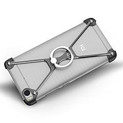 Na Odporne na wstrząsy Uchwyt pierścieniowy Kılıf Bumper Kılıf Jeden kolor Twarde Aluminium na XiaomiXiaomi Mi 5 Xiaomi Mi 5s Xiaomi Mi