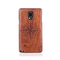 Для С узором Кейс для Задняя крышка Кейс для Мультяшная тематика Твердый Дерево для Samsung Note 5 Note 4