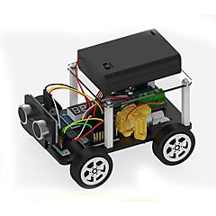 Oyuncaklar Erkekler için keşif Oyuncaklar Kendin-Yap Seti Eğitici Oyuncak Robot Araba ABS Siyah Solmaya