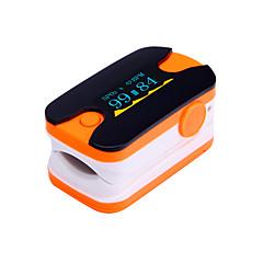 digitális ujjbeggyel pulzoximéter OLED kijelző pulzusmérő kék és narancssárga