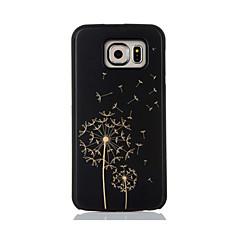 Para Diseños Funda Cubierta Trasera Funda Diente de León Dura Bambú para Samsung S7 edge S7 S6 edge S6