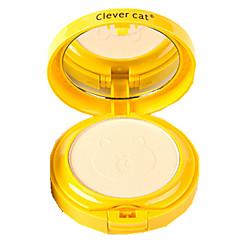 1#: Ivory+Natural Color Dry Cake   2#: Ivory+Natural Color Glitter Cake Compactpoeder Droog PoederGlanzende Glitter Lipgloss Bedekking