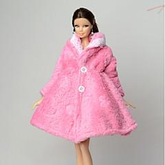 Daha Fazla Aksesuarlar İçin Barbie Bebek Palto İçin Kız Oyuncak bebek