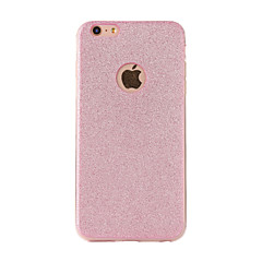 Per iPhone X iPhone 8 Custodie cover Effetto ghiaccio Custodia posteriore Custodia Glitterato Morbido TPU per Apple iPhone X iPhone 8