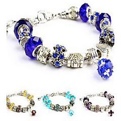 Cadenas y esclavas Cristal Amor Naturaleza Joyería de Lujo joyería de disfraz Cristal Diamante Sintético Joyas Joyas Para Cumpleaños