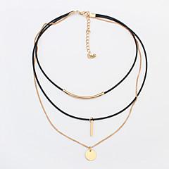 preiswerte Halsketten-Damen Halsketten / Tattoo-Hals - Tattoo Stil, Europäisch, Modisch Gold, Silber Modische Halsketten Schmuck Für Alltag
